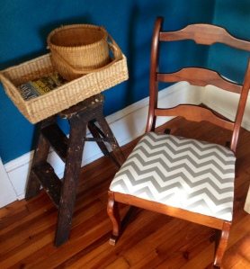 The completed rocking chair!
