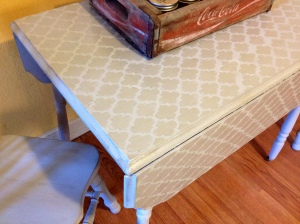 A kitchen table with a fun twist!