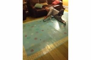 sealing the floor