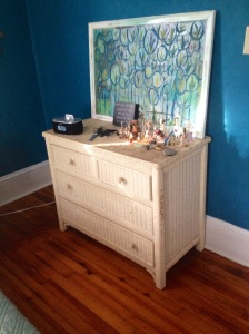Possibility: Replace this dresser with a giant one that I have fun painting plans for.