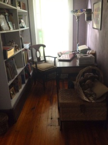 Possibility: Transform this nook into an art studio.