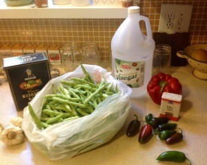 Don't you love eating things that you know began with fresh ingredients in your kitchen?